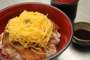 「穴子丼」 2,060円 (小)1,030円