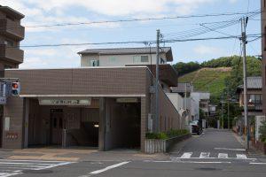 松ヶ崎駅「出入口2」付近
