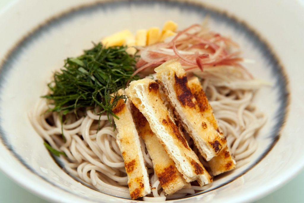 冷しぶっかけ 900円(夏季のみ),hiyashi-bukkake-soba(only summer time)