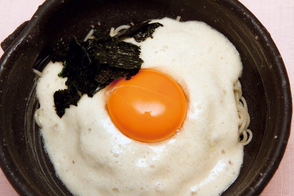山かけ(冷) 1,550円, yamakake-soba(cold)