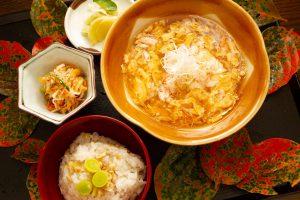 「季節のお蕎麦と御飯」1,350円
