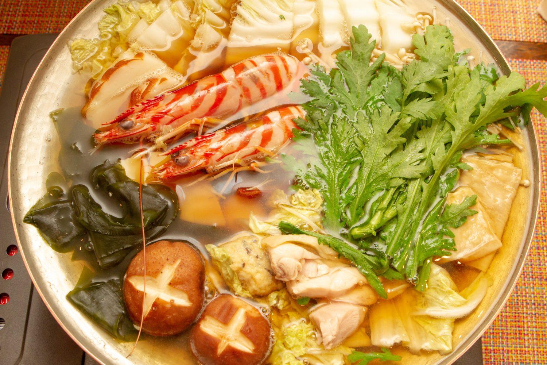 炊き鍋(うどんすき)
