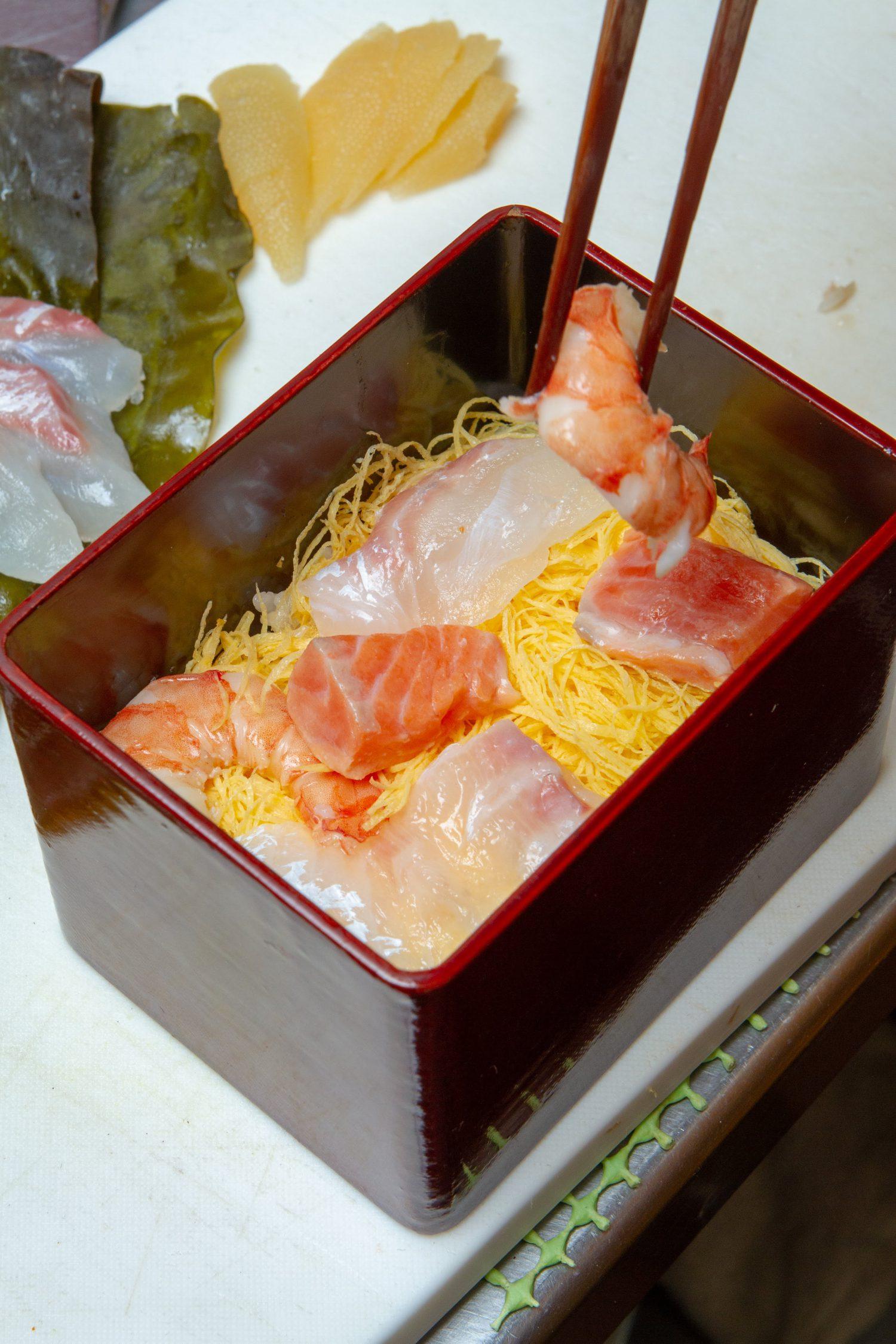 ちらし寿し, Chirashi Sushi_3