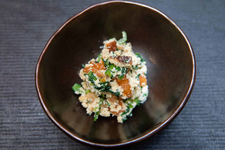 菊菜白和え1